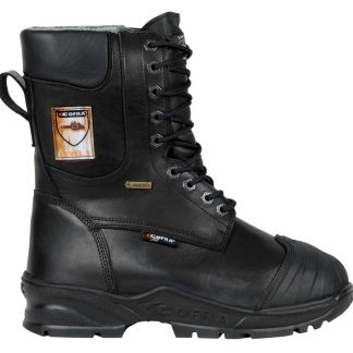 Rock Fall RF4500 Titanium High Leg Waterproof Safety Boot with Side Zip Size 12