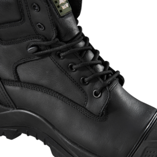 Rock Fall Slate Black S3 SRC Waterproof Composite Toe Cap Wide Fit Safety Boots